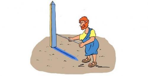 Радиус земли. Как впервые измерили радиус земли.